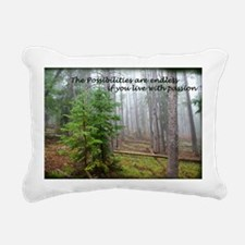 The possibilities are en Rectangular Canvas Pillow