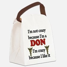 Im Not Crazy - DON Canvas Lunch Bag