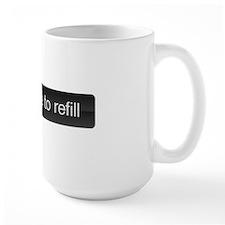 slide to refill Mug