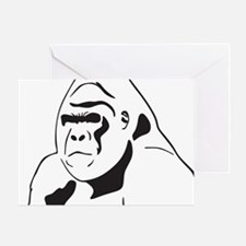 gorillaJPG Greeting Card