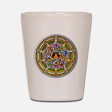Beltane Pentacle Shot Glass
