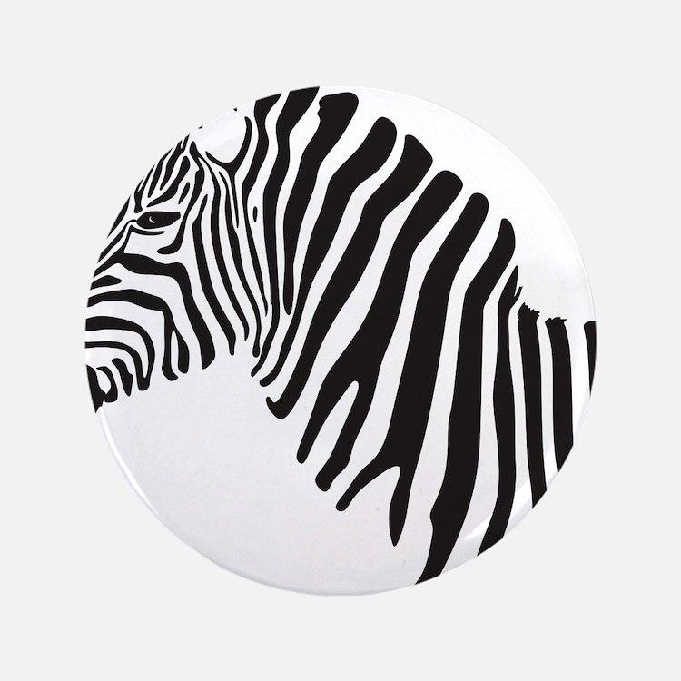 "Zebra 3.5"" Button"