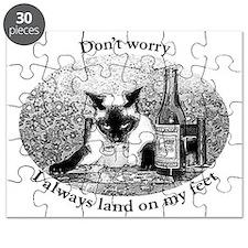 drunken cat Puzzle