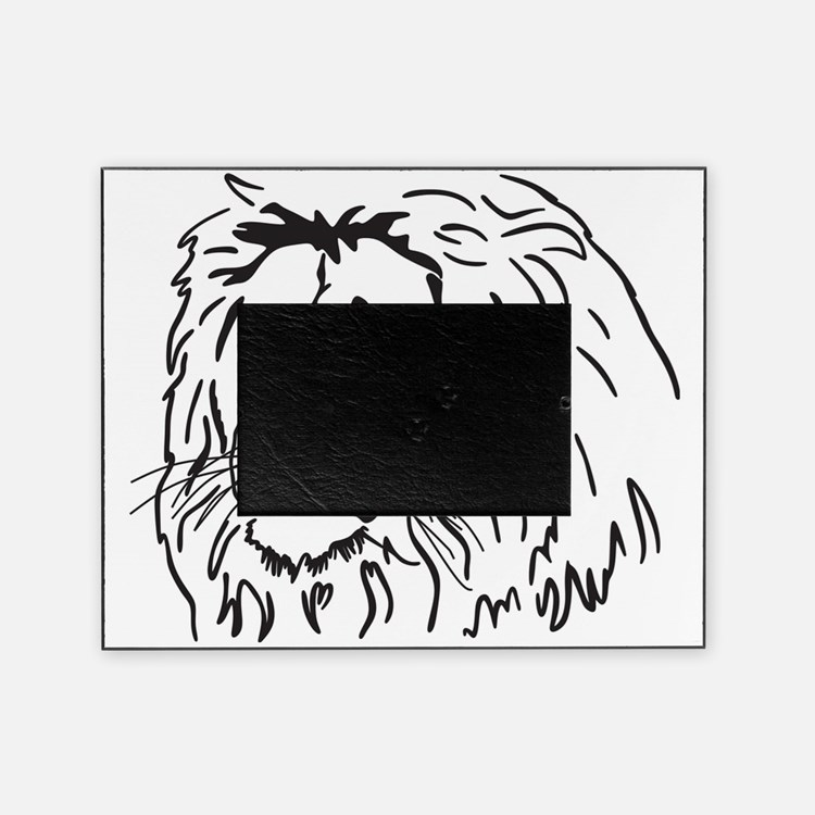 lion picture frames lion photo frames cafepress. Black Bedroom Furniture Sets. Home Design Ideas