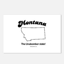 Montana - the unabomber state Postcards (Package o