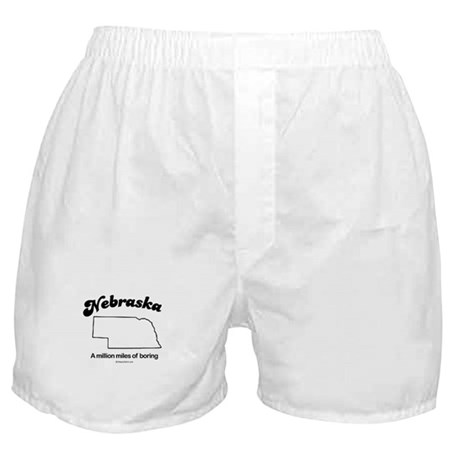 Nebraska - a million miles of boring Boxer Shorts