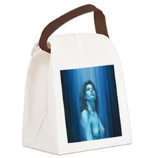 Pray Standing II Canvas Lunch Bag