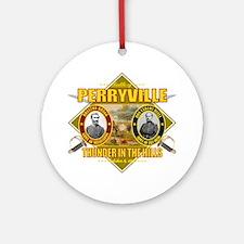 Perryville (battle)1 Round Ornament