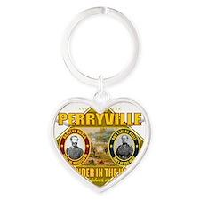 Perryville (battle)1 Heart Keychain