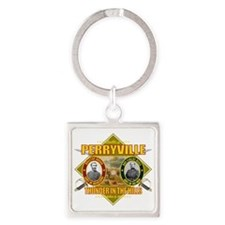 Perryville (battle)1 Square Keychain