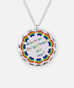 colors8 Necklace Circle Charm