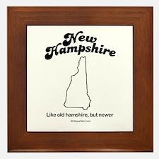 New Hampshire - Like old hampshire Framed Tile