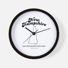 New Hampshire - Like old hampshire Wall Clock