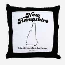 New Hampshire - Like old hampshire Throw Pillow