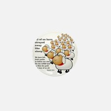 Isaiah_53_sheep Mini Button