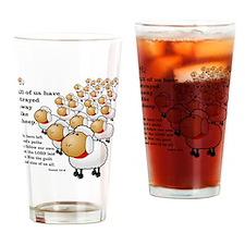 Isaiah_53_sheep Drinking Glass