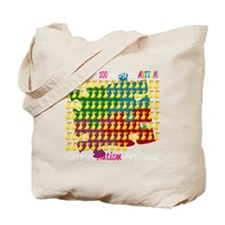 Autism-1-out-of-100-blk Tote Bag