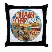 chainoffartround Throw Pillow