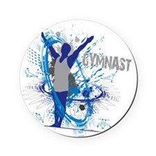 Male_Gymnast Cork Coaster