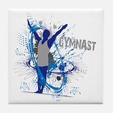 Male_Gymnast Tile Coaster