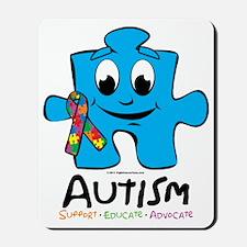 Autism-Cartoon-Puzzle Mousepad