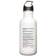 TextOnly_Affirmations Water Bottle