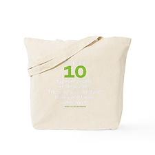 binary_blackshirt Tote Bag