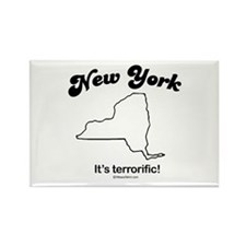 New York - it's terrorific Rectangle Magnet