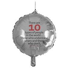 binary_whiteshirt Balloon