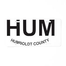 HUM Aluminum License Plate