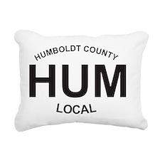 HUM Local Rectangular Canvas Pillow