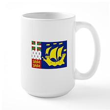 Saint-Pierre et Miquelon flag Mug