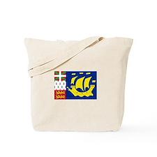 Saint-Pierre et Miquelon flag Tote Bag