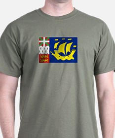 Saint-Pierre et Miquelon flag T-Shirt