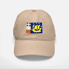 Saint-Pierre et Miquelon flag Baseball Baseball Cap