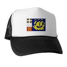 Saint-Pierre et Miquelon flag Trucker Hat