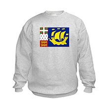 Saint-Pierre et Miquelon flag Sweatshirt