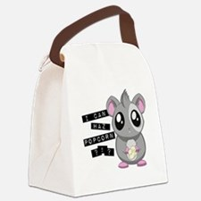 shamsterpop Canvas Lunch Bag