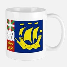Saint-Pierre et Miquelon flag Mug