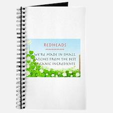 Organic Redhead Journal