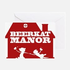 beerkat red Greeting Card