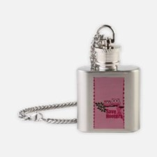 hooters Flask Necklace