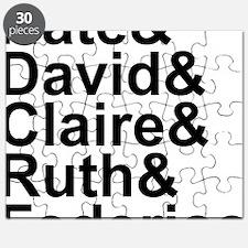 Six Feet Under names-black Puzzle