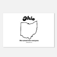 Ohio - We ruined it for everyone Postcards (Packag