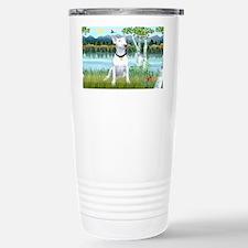 LIC-Birches-Bull Terrier Travel Mug