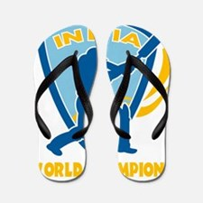 cricket india world champions Flip Flops