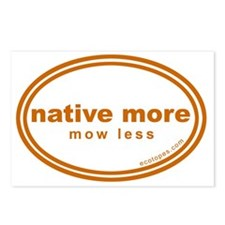 native-more-mow-less Postcards (Package of 8)