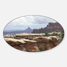 Canyonlands Sticker (Oval)