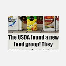 USDAfoodGroup Rectangle Magnet