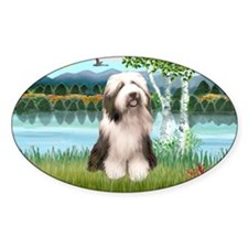 LIC-Birches-BeardedCollie1 Decal